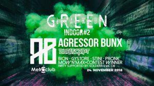 GreenLand Indoor II @ Metroclub Šaľa