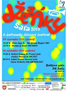 Šaliansky jazzový festival @ Kultúrny dom Šaľa - Bábková sála