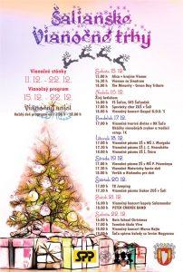 Šalianske vianočné trhy @ Pešia zóna Šaľa